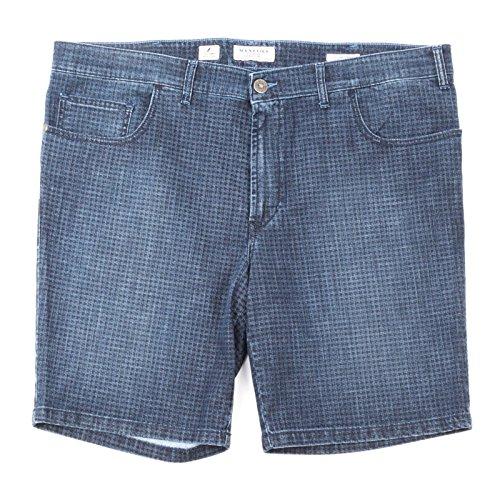 Maxfort mirtillo bermuda jeans uomo taglie forti (76 girovita 148cm)