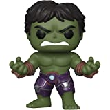 Funko - Pop! Marvel: Avengers Game - Hulk Figurina, Stark Tech Suit, Multicolor (47759)