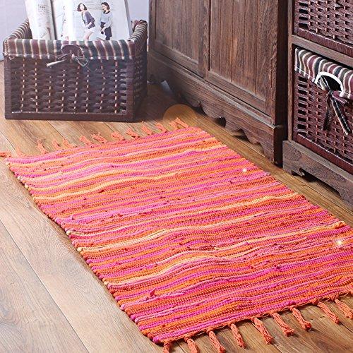Felpudos de Baño ashion estilo mediterráneo algodón cocina rectangu