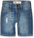 Levi's Bermudas, Pantalones para Niños, Azul (Indigo 46) 8 años