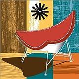 Posterlounge Alu Dibond 100 x 100 cm: Coconut Chair von Thomas Marutschke