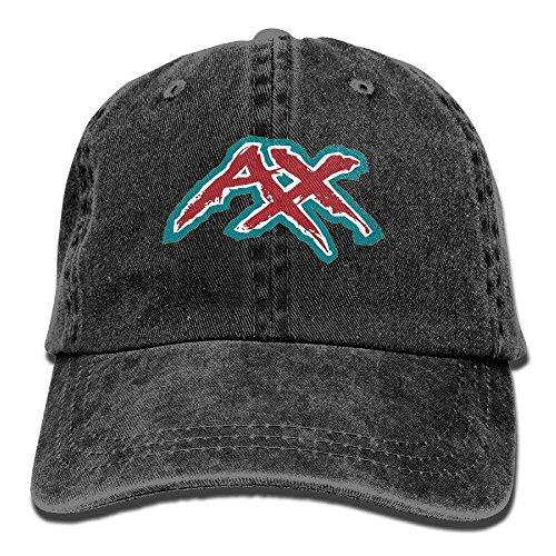 fboylovefor Denim Baseball Cap, AX Letter Vintage Adjustable Fashion Hat for Men Women (Ax-men Hat)