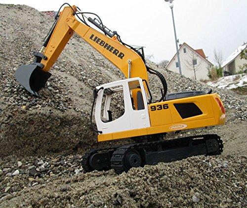 RC Auto kaufen Baufahrzeug Bild 2: RC Bagger Liebherr R936 1:20 2,4G Destruction-Set Ferngesteuertes