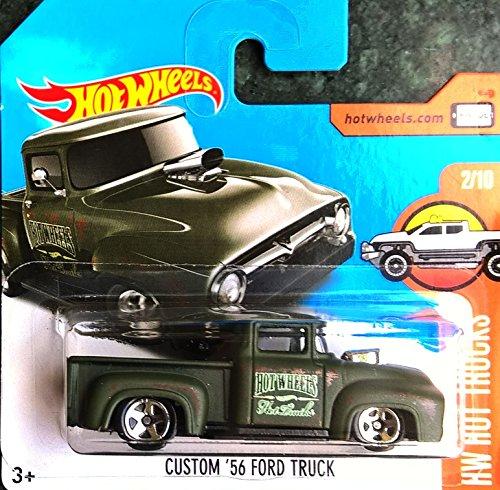 HOT WHEELS® Ford Truck PickUp - Custom Oldtimer 1956 - 1:64 - Farbe: urban (Amerikanische Käfer)