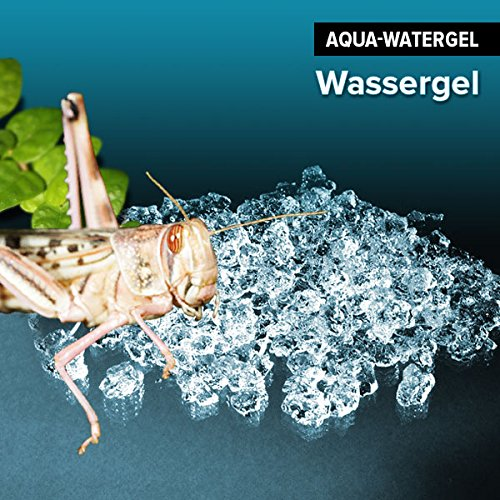 1000ml gebrauchsfertiges Wassergel festes Wasser Watergel f. Reptilien & Spinnen & Insekten -