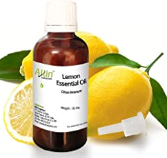 Allin Exporters Steam Distilled Lemon Essential Oil 30 Ml
