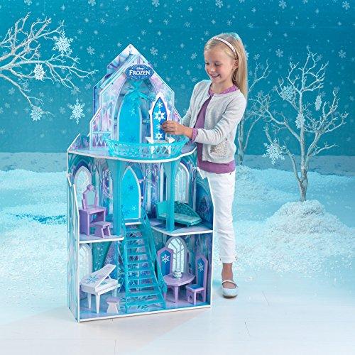KidKraft 65881 Puppenhaus Disney Frozen Ice Castle, bunt - 6