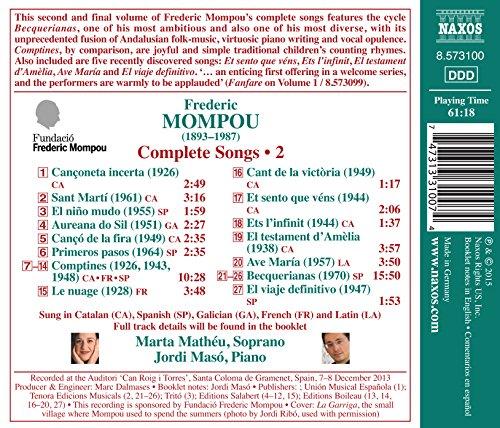 Intégrale des mélodies (Volume 2)