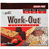 #2: Rite Bite Work Out Sugar Free Energy Bar - 50 g (Choco Berry, Pack of 6)