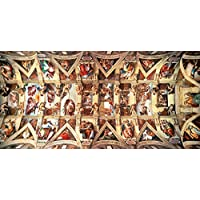 Educa 16065 - Sistine Chapel, Michelangelo - 18000 pieces - XXL Puzzle