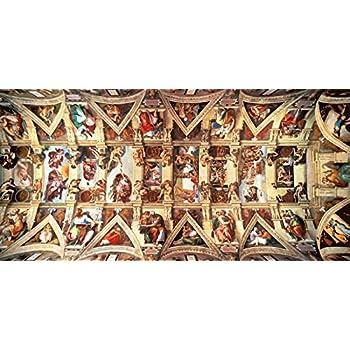 Educa - 16065 - Puzzle Classique - Chapelle Sixtine - 18000 Pièces