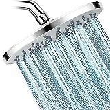 Dosmix Shower Head High Pressure Rainfall Shower Head- 9'' Luxury Chrome Engineering ABS