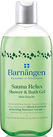 Barnängen Sauna Relax Shower & Bath Gel for Women, 400 ml
