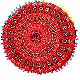 indiano cuscini pavimento rotondo bohemian cuscino motivo cuscini Caratteristica:100% nuovo e di alta qualità.Quantità: pezzo Forma: rotondo Questi bellissimi cuscini sono venduti senza il riempimento. Sono riempiti con poly-fill 100% Premium fibra d...