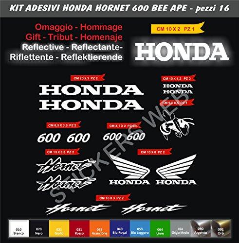 stickers-pegatinas-honda-hornet-600-abeja-bee-kit-15-piezas-scegli-colore-motorbike-cod0129-moto-bia