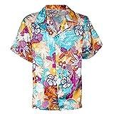 Widmann Srl camisa hawaiana hombre y Elementos de ropa para Adultos, Multicolor, wdm48291