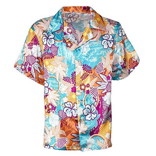 (Widmann 48293 Hawaiihemd für Erwachsene, Herren Mehrfarbig L)