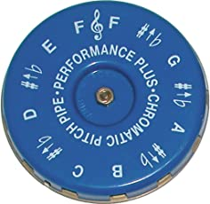 Performance Plus CP-F Vocal Chromatic Pitch Pipe Key of F to F with Carrying Bag