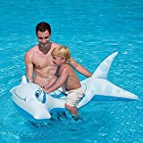Inflatable Smiling Face Hammerhead Swimming Pool Ride-On For Kids / Outdoor Garden Patio Home House Ouside Furniture Porch Yard Backyard Stuff Gadgets Set Kit Table Family Summer Cooking Cooker Items Portable Food Meat BBQ Gear Stand Birthday Gift Gardening Special Unique Durable High Quality Professional Large Small Stove Sitting Setting Shop Store Compact