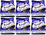 x6 Cadbury Mini Fingers 5 PACK ( 30 Snack Packs) 110g