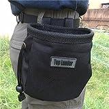 Magnesiabeutel Chalk Bag zum Klettern, Bouldern, Turnen, und Gewichtheben Unisex Sportz Kreide beutel für Kletterer mit Gürtel und Reißverschlusstasch