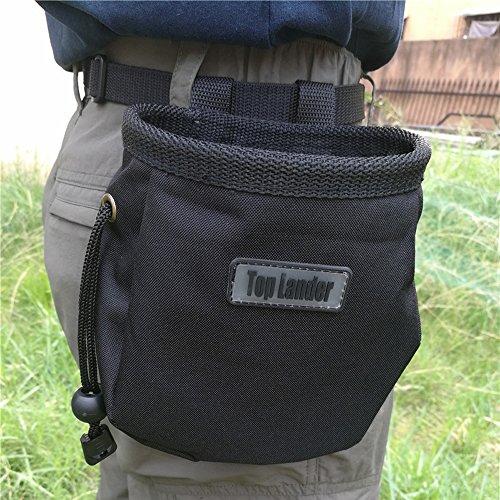 Magnesiabeutel Chalk Bag zum Klettern, Bouldern, Turnen, und Gewichtheben Unisex Sportz Kreide beutel für Kletterer mit Gürtel und Reißverschlusstasche