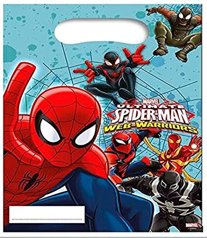 Ultimate Spiderman Web Warriors Party Tüten (Spiderman Web)
