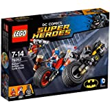 LEGO Super Heroes - Set Batman y persecución en moto por Gotham City, multicolor (76053)