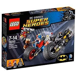 LEGO - 76053 - DC Comics Super Heroes  - Jeu de Construction - Batman : La poursuite à Gotham City