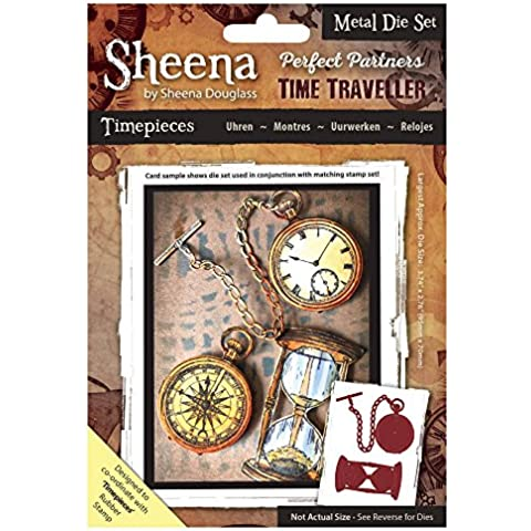 Sheena Douglass Perfect Partners tiempo Traveller troquel de Metal – relojes