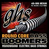 GHS RCM3045 45 - 105 Medium Bass Boomers Round Core String Set
