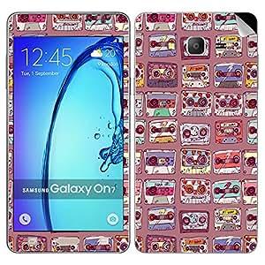Theskinmantra Flower TV Samsung Galaxy On7 mobile skin
