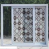 Vetro NRSP Maschera di pellicola per la protezione solare in vetro smerigliato porta marrone Film90cm x 3m