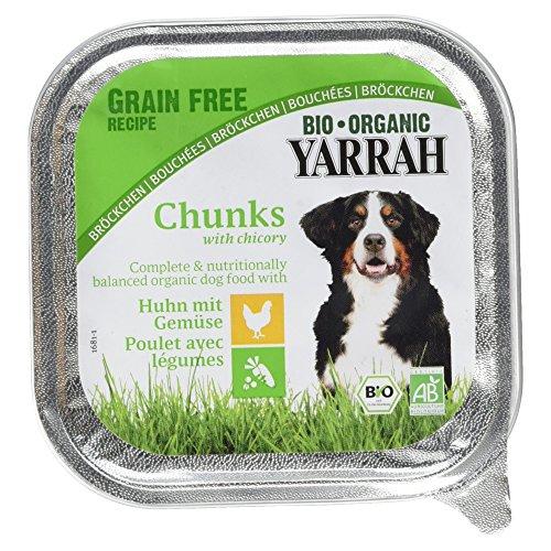 Yarrah Bio Hundefutter Huhn mit Gemüse, 150 g