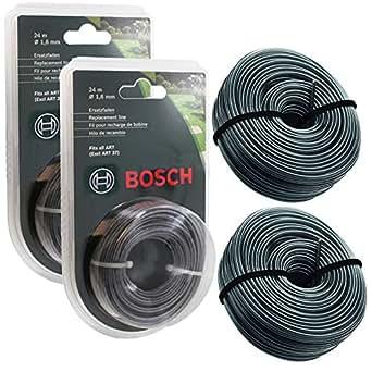 spares2go bosch art 24 27 30 36 li strimmer trimmer line spool feed 48m. Black Bedroom Furniture Sets. Home Design Ideas