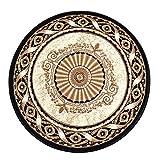 Fabbricante: MUZW Marchio: Tappeto-ZHIHOME Materiale: Polipropilene Spessore: circa 1.5cm Peso: 2.95Kg / m² Dimensioni: 100x100cm Colore: Beige Nota: 1. Dopo aver ricevuto il prodotto, ci può essere un piccolo assaggio, si prega di prestare a...