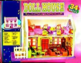 #8: Venus Toys Doll Dream House Pretend Play Sets with Furnished Accessories ( Color May Vary )