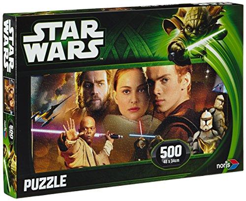 Noris Spiele 606031141 - Star Wars Puzzle Episode 2 & 3, Anakin, 500 Teile