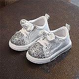 WEXCV Mädchen Süße Fliege Sportschuhe Baby Prinzessin Sneaker Freizeit Lederschuhe Laufschuhe