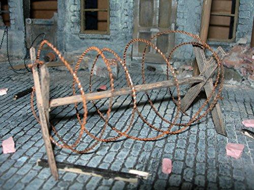 Künstlicher Stacheldraht 1:35Maßstab Diorama-Bausatz –2-Meter-Pack