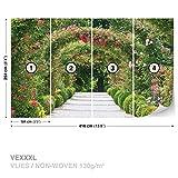 Garten-Weg-Natur Fototapete Tapeten Fototapeten Wandbilder Fotomural (2731DK)