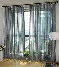 1 pieza sólida de cortinas de ventana / cortina / paneles / tratamiento tamaño 78.7inch * 106inch
