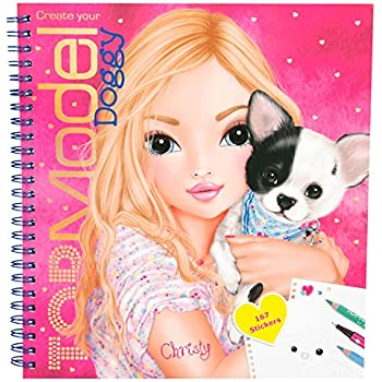 Coloriage Chien A Trois Tete.Depesche Livre De Coloriage 5418 Pour Creer Votre Propre Chien Mannequin Version Allemande