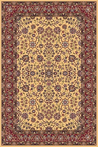 Erdenet Orientteppich, 200x300 cm, Wolle, orange, Gold !!! (200 x 300 cm) - 200 Wolle Orientteppiche