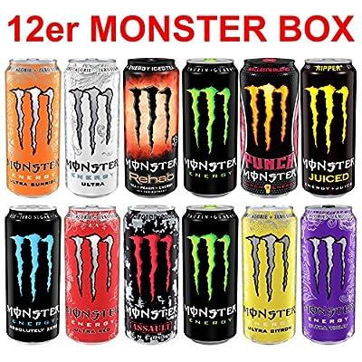 Monster Energy Drink Super Set Dosen (12 x 0.5 l)
