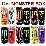 Monster Energy Drink Super Set Dosen (12 x 0.5 l) inc. 3.00€ EINWEG Pfand