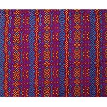 El hacer a mano indio vestido de algodón decorativo hacer rosas de tela de costura Por El Metro