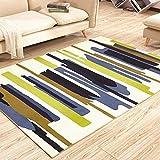 Love QAZ Nordic geometrische Muster Wohnzimmer Studie Continental modernes Sofa Tisch Schlafzimmer Bettvorleger Notizen 80 * 160 cm Bett Amerikanische (Größe: 120 * 160 cm)