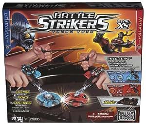 Megabloks - 29895UN - Jeu de Construction -  Coffret tournoi toupies Battle strikers