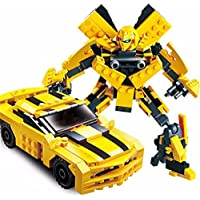 Akrobo Gudi Learing and Education Building Blocks Model Toys, Yellow